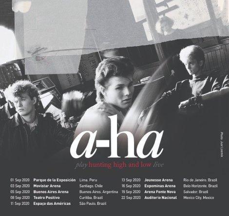 a-ha oficial tour